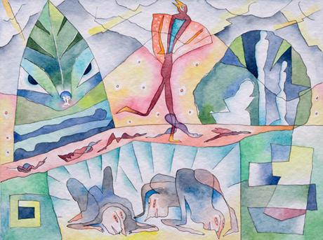 12. In den Urgrund spähen zu Aristophanes Die Wolken 2002