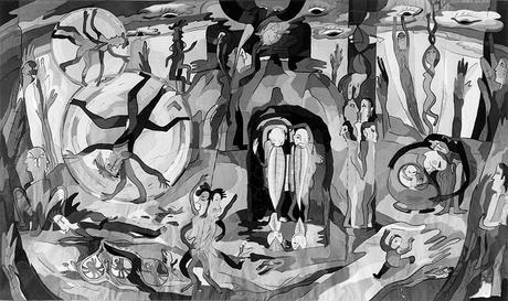 1. Aristophanes Rede vom Eros 1976 - 85, 166 x 285 cm