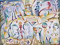 8. Androgynes Reich, zur Weibervolksversammlung v. Aristophanes 2009, 224 x 302 cm