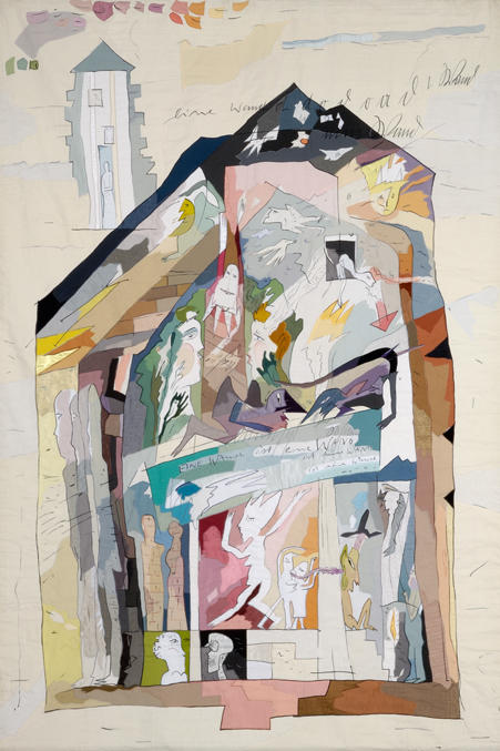 1. eine Wand ist eine Wand 1987, 323 x 217 cm