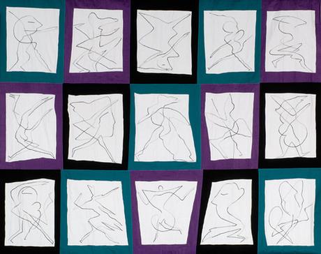 7. tanzende Backchen 2 1997, 205 x 262 cm